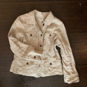 J. Jill Linen Utility Jacket